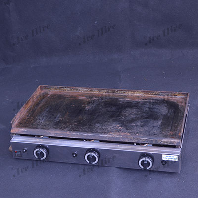 Gas Griddle Plate 3 Burner