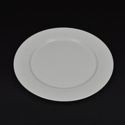 Orion White 11  Wide Rim Plate & Orion Plates - Crockery | Ace Hire Catering Equipment u0026 Furniture Hire