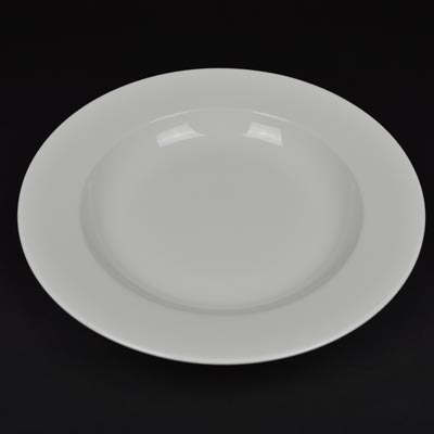 "Orion White 12"" Pasta Plate/Bowl"