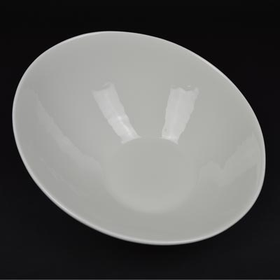 "Orion White 12"" Coupe Bowl"