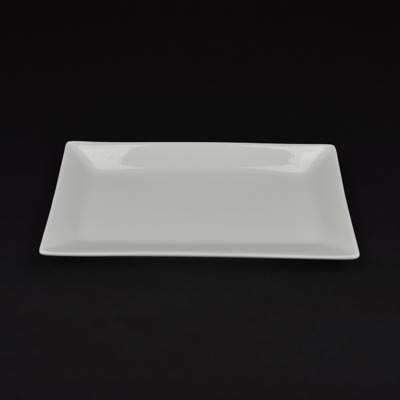 Orion White 23cm x 11cm Rectangular Dish