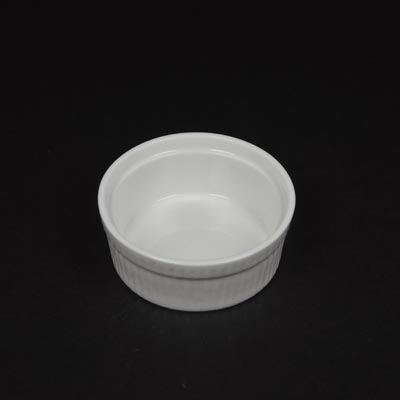 Orion White Ramekin Medium (9cm x 3.5cm)