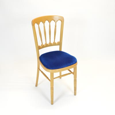 Royal Blue Pad for Banquet Chair