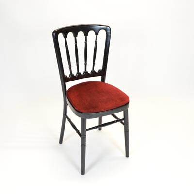 Burgundy Pad for Banquet Chair