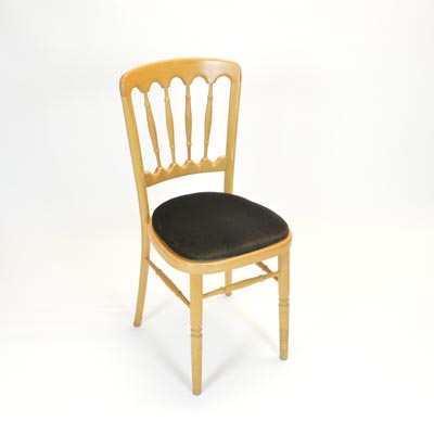 Black Pad for Banquet Chair