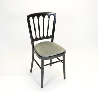 Silver/Grey Pad for Banquet Chair