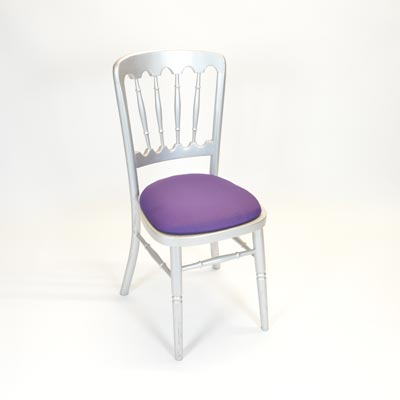 Deep Purple Pad for Banquet Chair