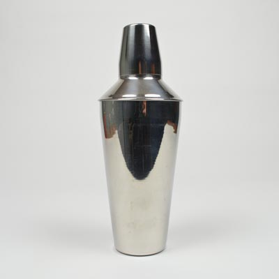 Stainless Steel 3 Piece Cocktail Shaker