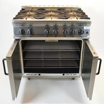 Parry 6 Burner Gas Cooker