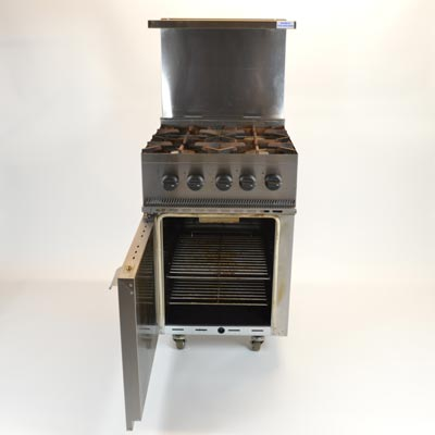 Parry 4 Burner Gas Cooker