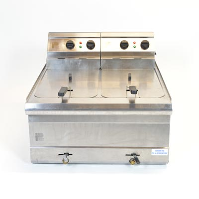 Parry Electric Double Fryer 2x9 Litre