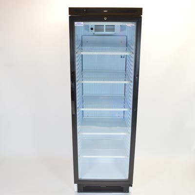6ft Interlevin Glass Fronted Fridge