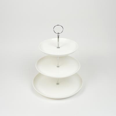 Orion Crockery 3 Tier Cake Stand/Tray