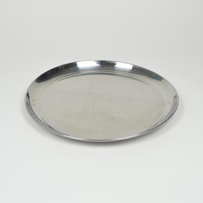 "14"" Stainless Steel Round Tray"