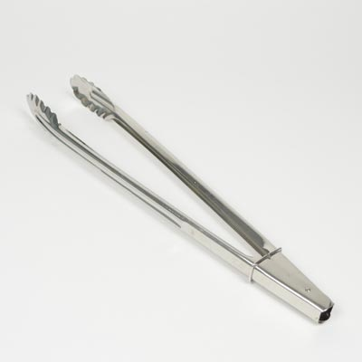 "16"" Stainless Steel Grill Tongs"